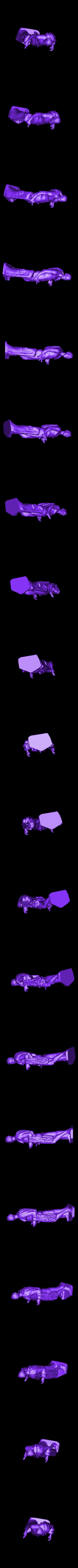 louvre-julius-caesar.stl Download free STL file Julius Caesar Borghese at The Louvre, Paris • 3D printable design, Louvre