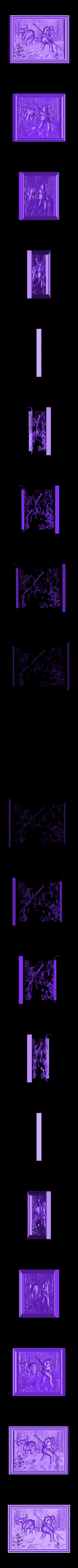 901. Panno.stl Download free STL file Hunting Theme, Bear • 3D printable object, stl3dmodel