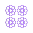 flower-coaster2mm.stl Download free STL file MARGARITA STIRRER AND MARGARITA COASTER/STRAINER • Template to 3D print, FLOR