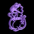 Dino.stl Download STL file Dinosaur cookies cutter DINO • 3D printable model, abauerenator