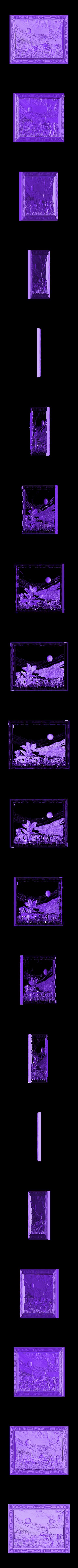 928. Panno.stl Download free STL file Flowers • 3D printable object, stl3dmodel