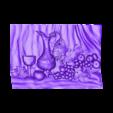 931_Panno.stl Télécharger fichier STL gratuit Raisin et vin • Objet pour impression 3D, stl3dmodel
