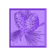 938. Panno.stl Download free STL file Pine • 3D printer object, stl3dmodel