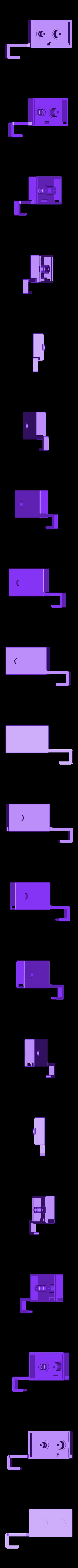 Tresor_V1.2-GehaeuseUnterteil.stl Télécharger fichier STL gratuit Comment transformer une armoire de cuisine à deux portes en coffre-fort ? • Plan à imprimer en 3D, dede67