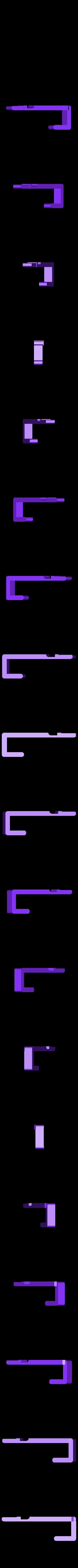 Tresor_V1.2-Haltestange.stl Télécharger fichier STL gratuit Comment transformer une armoire de cuisine à deux portes en coffre-fort ? • Plan à imprimer en 3D, dede67