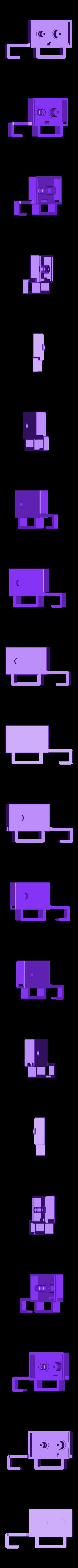 Tresor_V1.2-GehaeuseUnterteilMB.stl Télécharger fichier STL gratuit Comment transformer une armoire de cuisine à deux portes en coffre-fort ? • Plan à imprimer en 3D, dede67