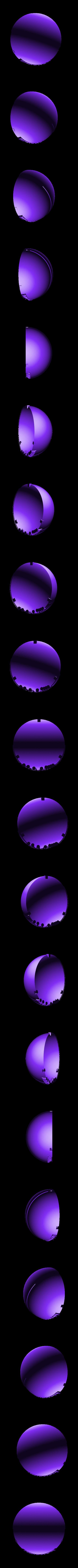 domev2.STL Télécharger fichier STL gratuit L'application Dome for Atnight • Modèle imprimable en 3D, Duveral