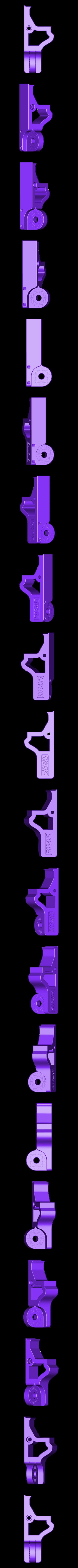 xAxisBracket.STL Télécharger fichier STL gratuit Monture de caméra articulée Raspberry Pi pour Prusa MK3 • Design à imprimer en 3D, sneaks