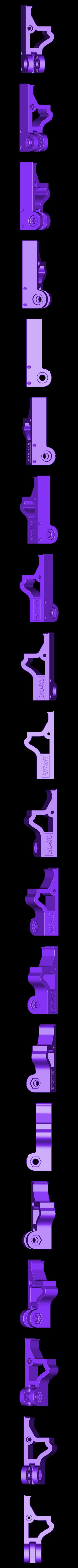 xAxisBracket_F.STL Télécharger fichier STL gratuit Monture de caméra articulée Raspberry Pi pour Prusa MK3 • Design à imprimer en 3D, sneaks
