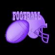 P105h.STL Download STL file Set American Football • 3D printable model, 3dmodelsByVadim