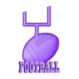 P105g.STL Download STL file Set American Football • 3D printable model, 3dmodelsByVadim