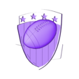 P105b.STL Download STL file Set American Football • 3D printable model, 3dmodelsByVadim