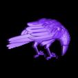 P107.STL Download STL file Raven • 3D printable design, 3dmodelsByVadim