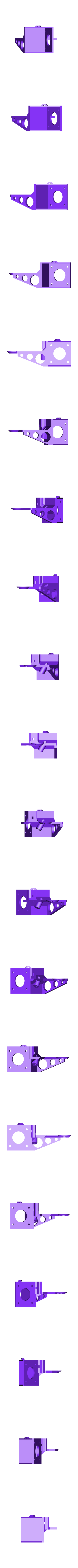 extrusor_suporte_furo_fita_aco_3.stl Download free STL file CR-10 or Mini to Prusa i3 conversion kit • 3D print design, aerofred