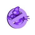 SnorriArms_Ghostbusters.stl Download free STL file GhostBusters Logo • Template to 3D print, Snorri