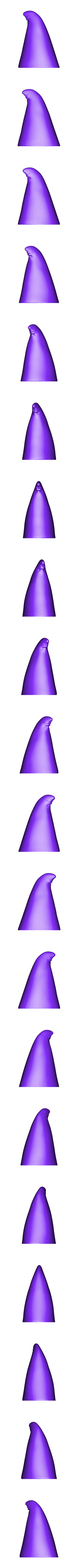 wizard_hat_dmdf17FINAL.obj Download free OBJ file Rolf the Wizard • 3D printable template, MagicEddy