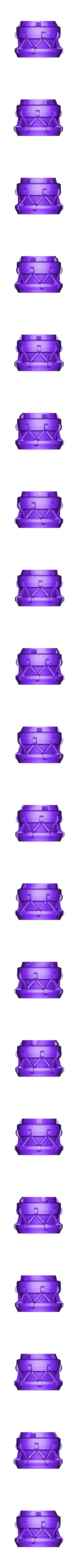 StarWalker_top.obj Download free OBJ file The StarWalker • 3D print design, AlbertThePrintingMachine