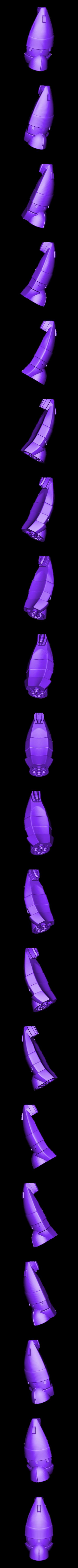 StarWalker_wing.obj Download free OBJ file The StarWalker • 3D print design, AlbertThePrintingMachine