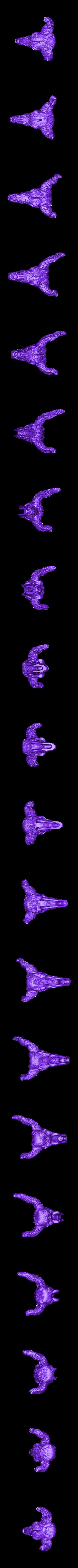 Crown_Skull.stl Download free STL file Storied Skulls Crown and Tiara • 3D printer model, alterboy987