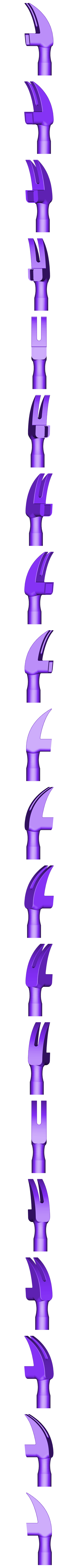 Hammer_Head.STL Download free STL file Hammer • 3D printing model, alterboy987