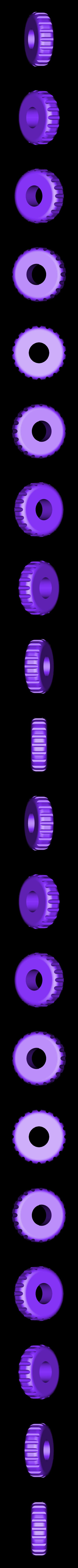 Blender_Thumbwheel.STL Download free STL file Hand Mixer • 3D printable design, alterboy987