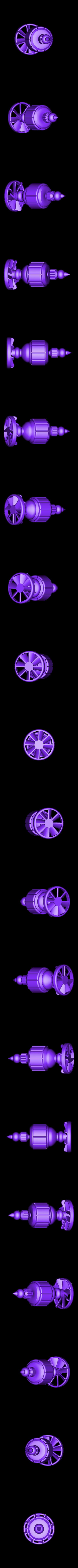Blender_Motor.STL Download free STL file Hand Mixer • 3D printable design, alterboy987