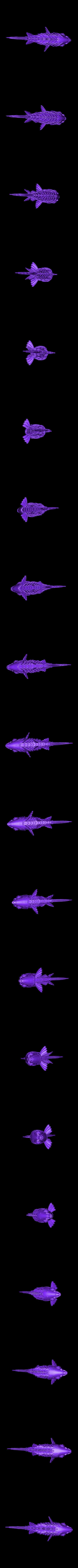 Koi_Fish.stl Download free STL file 'On Such a Full Sea' Koi Fish • 3D printable design, RaymondDeLuca