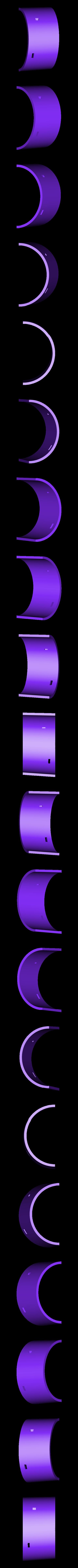 Boiler_Section_1_-_SCALED_Part_3a-.STL Download free STL file 4-8-8-4 Big Boy Locomotive • 3D printer object, RaymondDeLuca