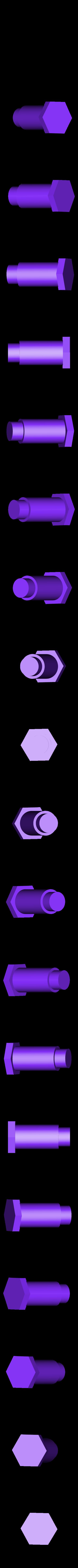CrossHead_Pin.STL Download free STL file 4-8-8-4 Big Boy Locomotive • 3D printer object, RaymondDeLuca