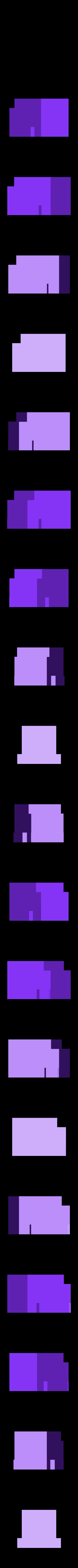 MakerBot_-_Rear_Engine-_SCALED-1.STL Download free STL file 4-8-8-4 Big Boy Locomotive • 3D printer object, RaymondDeLuca