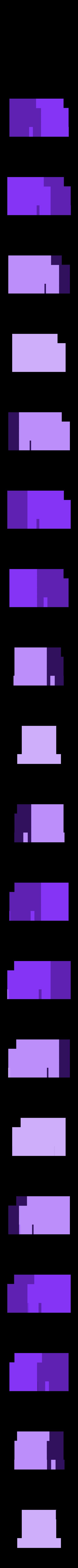 MakerBot_-_Rear_Engine-_SCALED-2.STL Download free STL file 4-8-8-4 Big Boy Locomotive • 3D printer object, RaymondDeLuca