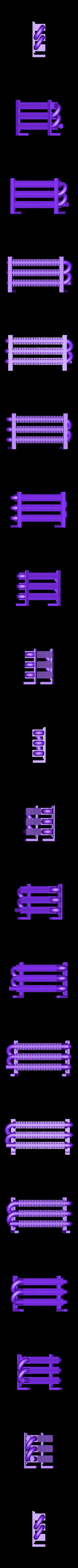 Radiator_Core_a.STL Download free STL file 4-8-8-4 Big Boy Locomotive • 3D printer object, RaymondDeLuca