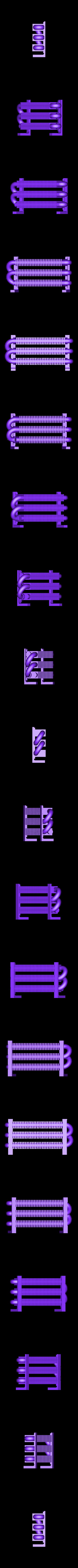 Radiator_Core_b.STL Download free STL file 4-8-8-4 Big Boy Locomotive • 3D printer object, RaymondDeLuca