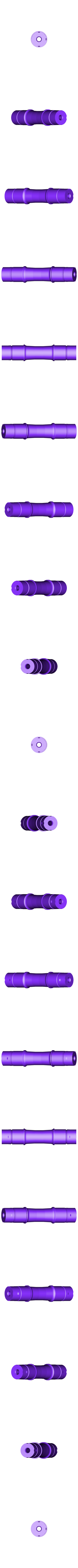 Main_Axle.STL Download free STL file 4-8-8-4 Big Boy Locomotive • 3D printer object, RaymondDeLuca