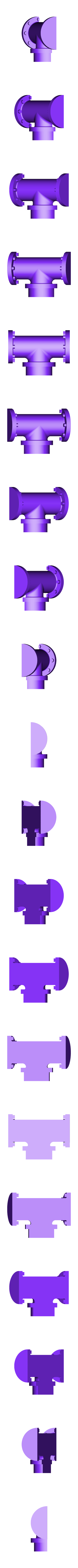 Pipe__T-b.STL Download free STL file 4-8-8-4 Big Boy Locomotive • 3D printer object, RaymondDeLuca