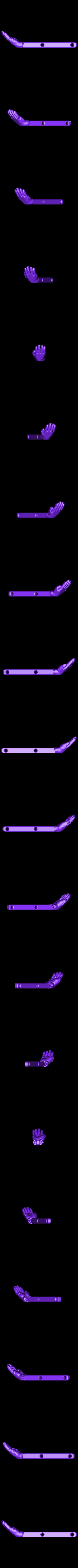 Glove_Left_dmdf.OBJ Download free OBJ file Scissor Hands • 3D printable design, Nairobiguy3D