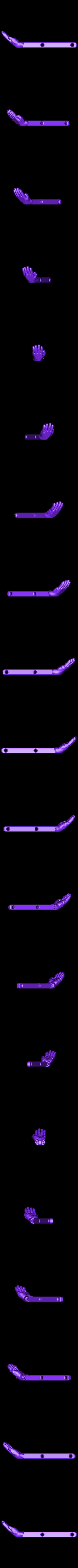Glove_Right_dmdf.OBJ Download free OBJ file Scissor Hands • 3D printable design, Nairobiguy3D