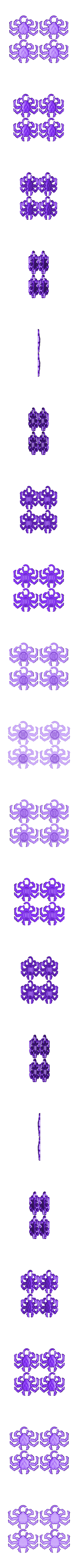 4SpiderCrabs.stl Télécharger fichier STL gratuit Sea Creatures! • Plan pour impression 3D, wally3Dprinter
