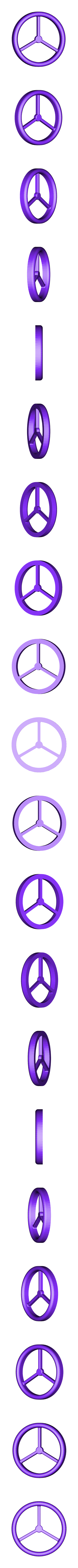 Steering_Wheel.STL Download free STL file Tractor • 3D print object, wally3Dprinter