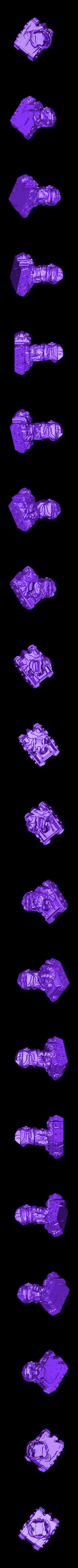 Tank.stl Télécharger fichier STL gratuit Giant Alien Tank attaque la ville ! • Plan pour imprimante 3D, wally3Dprinter