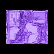RobotBASE_HiRes.stl Télécharger fichier STL gratuit Un robot géant attaque la ville ! • Objet imprimable en 3D, wally3Dprinter