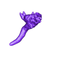 Lizard_0830_010.stl Download free STL file Giant Lizard Attacks City! • 3D printer design, wally3Dprinter