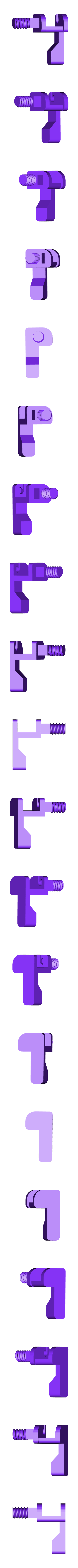 BASE LEFT.stl Download STL file Gaming Grip for Smartphones • 3D printing template, SOLIDMaker3D