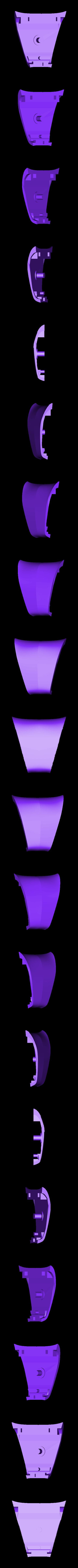 CENTER BOT.stl Download STL file Gaming Grip for Smartphones • 3D printing template, SOLIDMaker3D