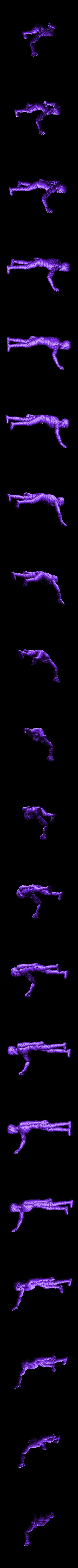 mummy2SOLID.stl Download free STL file Mummy - 28mm D&D miniature • 3D printable object, pyrokahd