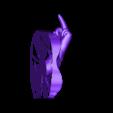 OBJ.obj Download OBJ file RICK PORTAL FINGER MAGNET • 3D printer design, tolgaaxu