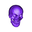 Human Skull w. Mandible- low poly.OBJ Download 3DS file Human Skull and Mandible  • Object to 3D print, Programmed