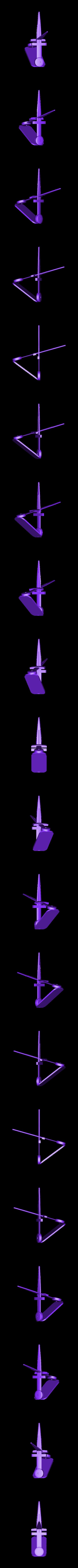 zwaard houder zwaard.stl Download STL file  sword holder • 3D printer model, jasperbaudoin