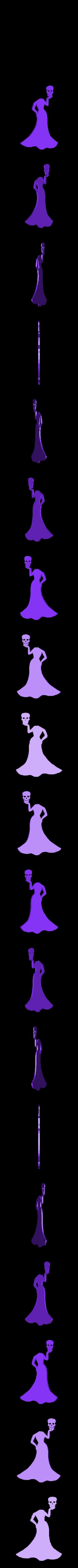 princesse sans tête.stl Download STL file Halloween (full of wall decoration) • 3D print model, catf3d