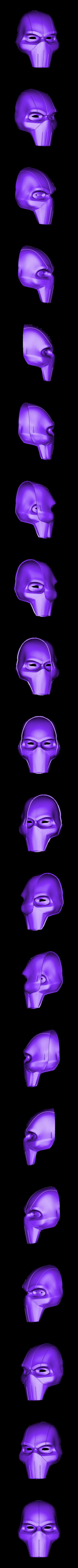 Taskmaster Udon Mask v4.stl Télécharger fichier STL gratuit Masque Udon Taskmaster • Modèle pour imprimante 3D, VillainousPropShop